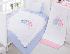 Sunny Funny Bebek Mavi Pike Takımı - Mutlu Çiftler - evmanya.com