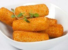 Patates Kroket Tarifi Potato Croquettes, Snack Recipes, Cooking Recipes, Homemade Beauty Products, Kfc, Cornbread, Sweet Potato, Tapas, Food And Drink