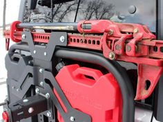 Armor Tech Offroad Hi Lift mounts - Google Search Offroad Accessories, Wrangler Accessories, Jeep Accessories, Jeep Jk, Jeep Truck, Truck Camping, Jeep Mods, Truck Mods, Jeep Baby