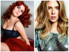 Celebrities that Are Red Heads and Blonde Bombshells