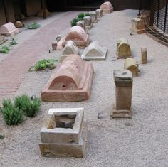 Barcelona, Spain: a section of the Roman sepulchral way containing 70 tombs of the 2nd and 3rd Centuries AD in a variety of styles and materials. Many of these may be viewed today either from the plaza directly above or, during certain open hours, up close in their semi-subterranean setting. The tombstones include clear interpretive displays and translations of the funerary inscriptions. Red more here: http://www.clioancientart.com/id7.html