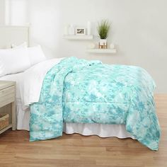 Shop for Watercolor Comforter and our wide selection of other Comforter Sets at Stoneberry. College Bedding Sets, Beautiful Bedrooms, Comforter Sets, Comforters, Watercolor, Blanket, Beds, Home, Travel