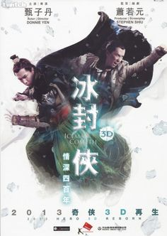 I can't wait to see this! Donnie Yen Iceman Cometh 3D