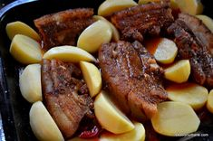 Healthy Nutrition, Pot Roast, Carne, Steak, Food And Drink, Cooking, Ethnic Recipes, Mariana, Pork