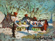 Baie St. Paul by Albert Rousseau