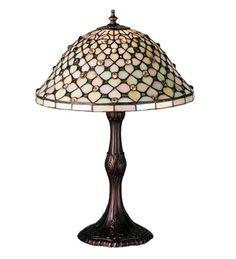 Meyda Tiffany 52010 Diamond & Jewel Table Lamp