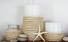 wrap flameless candles