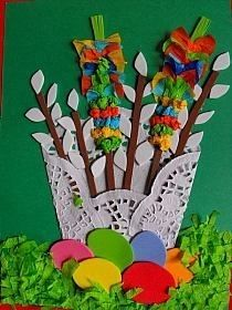 Craft Projects For Kids, Easter Crafts For Kids, Diy Projects To Try, Diy Paper, Paper Crafts, Easy Crafts, Diy And Crafts, Kids Workshop, Easter Art