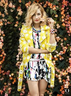 Beth Behrs The Oprah Magazine June 2014