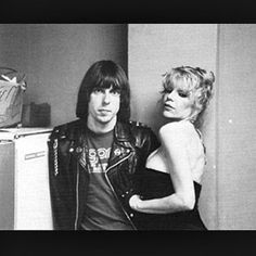 Johnny Ramone & Wendy O Williams
