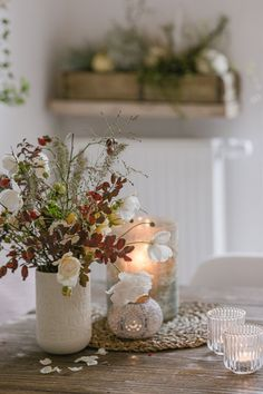 Autumn time – candle time or my new mirror - New Deko Sites