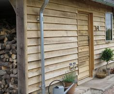 Exterior Wall Cladding, House Cladding, Timber Cladding, Exterior Siding, Garden Huts, Garden Cabins, Norwegian House, Shed Construction, Clapboard Siding