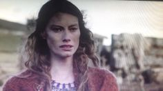 Vikings Aslaug sees Ragnar coming to rescue her
