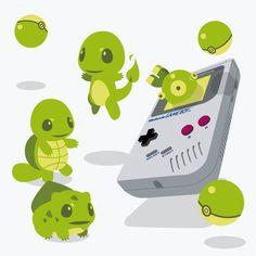 dotcore: Pokémon. by Eruaru.   GamesNEXT Blog