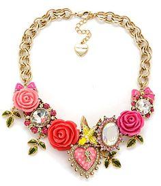 betsey johnson necklace-I love it