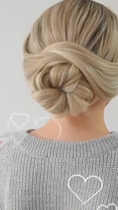 Hairdo For Long Hair, Easy Hairstyles For Long Hair, Long Hair Updos, Easy Wedding Hairstyles, Edgy Long Hair, Work Hairstyles, Hairstyle Ideas, Style Hairstyle, Hairdos