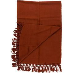 Pre-owned Alicia Adams Alpaca Throw Blanket ($175) ❤ liked on Polyvore featuring home, bed & bath, bedding, blankets, red, red throw blanket, fringed throws, alicia adams throws, fringe blanket and red blanket