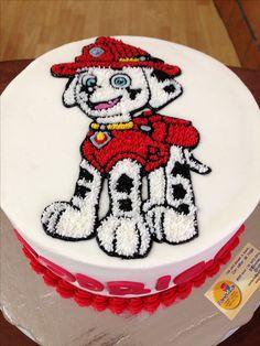 Marshall Paw Patrol cake