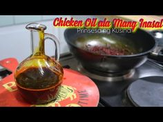 How to make Chicken Oil ala Mang Inasal Filipino Dishes, Filipino Food, Filipino Recipes, Chicken Oil Recipe, Roast Chicken, Grilled Roast, Barbecues, Tasty Dishes, Sauces