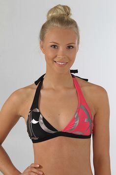FOX Late Gear Fixed Halter bikinien yläosa Black 39,90 € www.dropinmarket.com