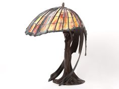 Decorative table lamp after Peter Behrens, around 1970/80 from Auctionata in Berlin, Germany and on Ruby Lane
