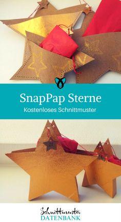 Ein Geschenk in buntes Papier einpacken kann jeder. Mit dem kostenlosen Schnittmuster für Sterne aus SnapPap gibst Du Deinen Weihnachtsgeschenken noch eine ganz persönliche Note. … Weiterlesen