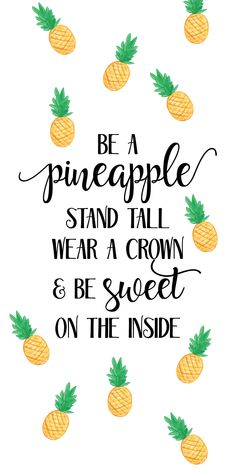 motivational quote Birthday Pineapple Wish Bracelet Stand tall Exam Gift