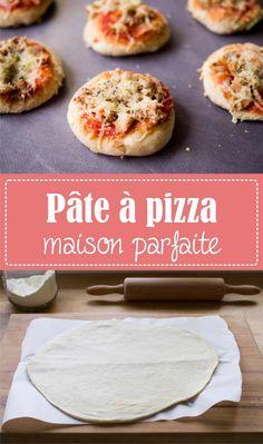 Perfect homemade pizza dough, my easy and unbeatable recipe on the Godiche! Pizza Chef, Taco Pizza, Mini Pizzas, Pizza Buns, Pizza Rolls, Pizza Food Truck, Vegetarian Pizza, Cooking Chef, Breakfast Pizza