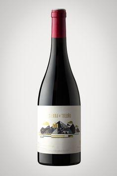 Sierra de Toloño : Design work by Joan Josep Bertran  #taninotanino #vinosmaximum