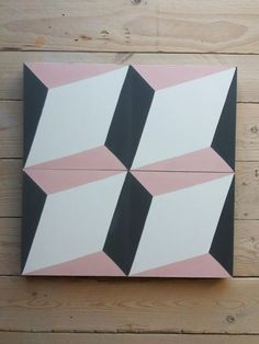 Zementfliesen | Design Cube XL | Rose Cube, Cement Tiles, Toys, Bespoke, Design, Gray Tiles, Colors, Activity Toys, Taylormade