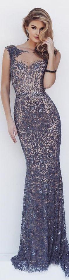 Sherri Hill maxi dress. women fashion outfit clothing stylish apparel @roressclothes closet ideas