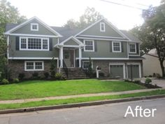 Bi-Level Style Home Addition- After