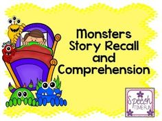Work on auditory/reading comprehension skills with this fun monster themed activity!Skills addressed: answering questions, recalling details/key story elements, sequencing, using graphic organizers, main idea, compare/contrast, predicting, and expanding creativity!In this activity:-Three original stories related to monsters theme-Graphic organizer to use with all three stories-Board game and comprehension task cards that can be used with all stories-Worksheet to promote creativity and…