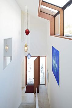 Lamps in entrance hall