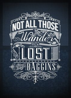 Typography inspiration -- one of my favorite quotes and I love they typography