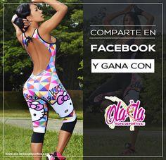 Comparte en facebook nuestros post de OLA-LA ROPA DEPORTIVA Y GANA. Tenemos premios que te encantaran y te harán lucir en el 2016 espectacularmente sexy a la hora de hacer deporte. Recuerda compartir y comentar nuestros post con tus contactos, así de fácil entras a participar en nuestro concurso. #Ropadeportiva #Fitness #ComercioElectronico #Colombia