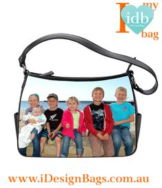 I love carrying my kids around on my leather hand bag from idesignbags - they are so quiet - the kids that is!