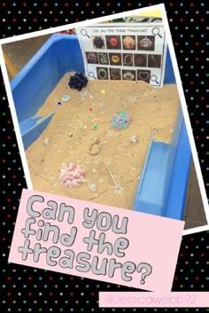 Can you find the treasure? (Shamelessly stolen from ) EYFS Pirate Activities, Eyfs Activities, Nursery Activities, Classroom Activities, Activities For Kids, Pirate Day, Pirate Theme, Sand And Water, Water Play
