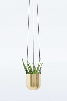 Plant Hanger in Brass - Urban Outfitters