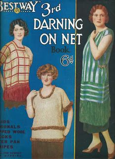 A now dead art - Darning on Net. See the story on the blog. http://vintageknitpatterns.blogspot.com.au/