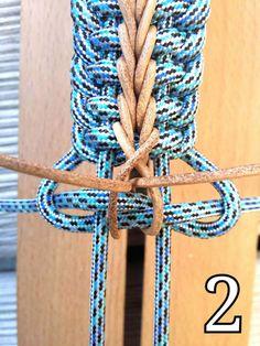 DIY tips: Paracord tips - easy to do Paracord Tutorial, Paracord Bracelet Instructions, Paracord Bracelet Designs, Macrame Bracelet Patterns, Paracord Bracelets, Bracelet Tutorial, Knot Bracelets, Paracord Ideas, Survival Bracelets