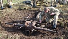 Historians uncover First World War guns buried for 60 years on Salisbury Plain after being used as target practice for Spitfires - http://www.warhistoryonline.com/war-articles/historians-uncover-first-world-war-guns-buried-for-60-years-on-salisbury-plain-after-being-used-as-target-practice-for-spitfires.html