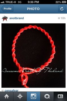 waxcord bracelets by ANOT