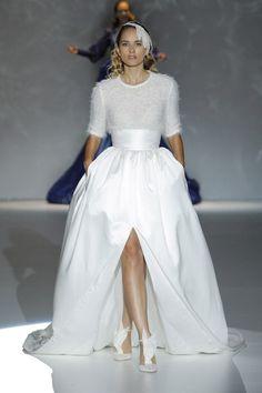 isabel zapardiez abito da sposa autunno inverno