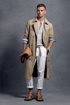 Michael Kors Menswear S/S '16 / men fashion / model / designer