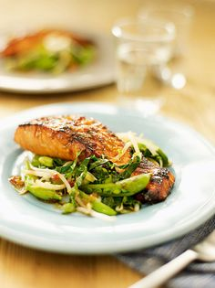 This healthy Asian recipe is low in calories and saturated fat. A great dinner party dish.