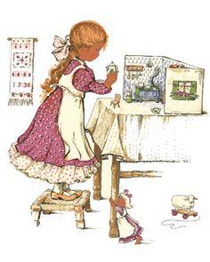 dollhouse illustration