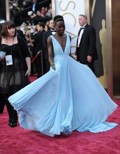 Lupita Nyong'o 2014 Oscar dress.