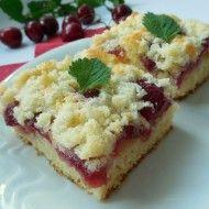 Fotografie receptu: Třešňový koláč z tvarohového těsta