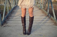boots + lace